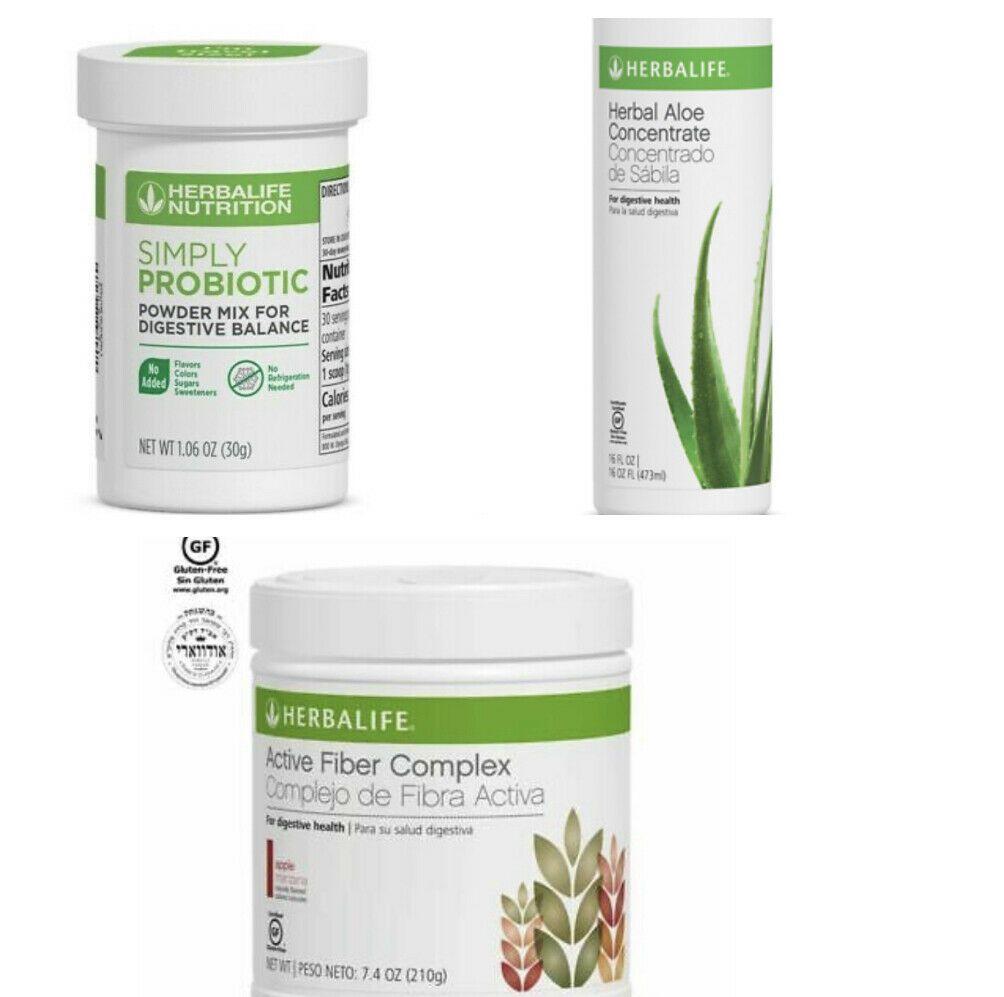 Sales Herbalife Herbal Aloe Concentrate Probiotic Active Fiber Complex Ebay In 2020 Herbalife Herbalism Digestive Balance