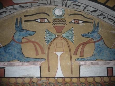 Tomb of Sennedjem. Deir el Medina, Egypt