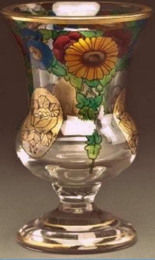 Pokal, wohl Hermann Pautsch, Arnsdorf bei Haida um 1920