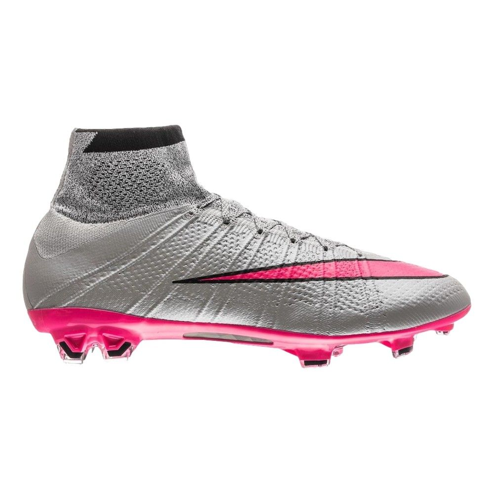 Grau Pinke Nike Mercurial Superfly 2015 Fußballschuhe