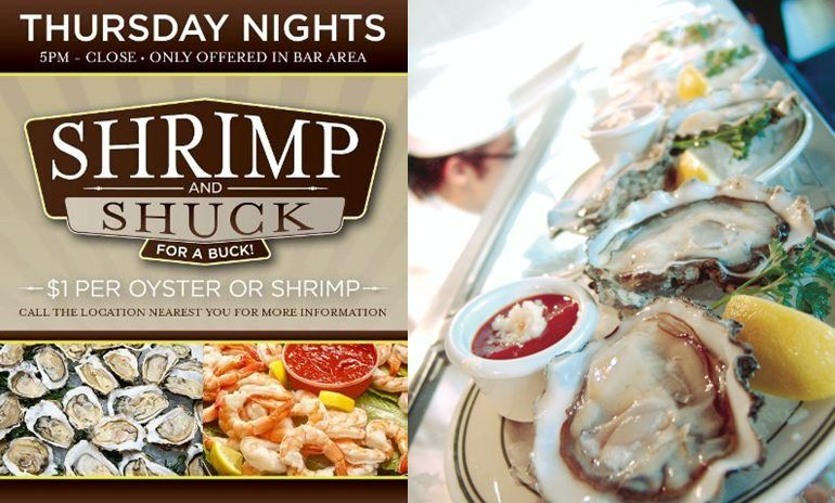Head to McCormick and Schmick's tonight for their Shrimp