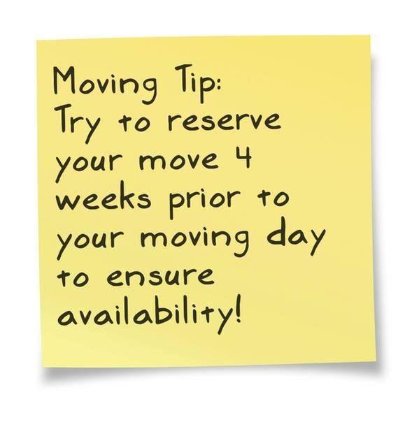 Organising your move early = stress free #moving! www.santafewridgways.com