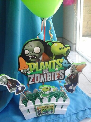 Centro De Mesa Plantas Vs Zombies Festejos Pinterest Plants
