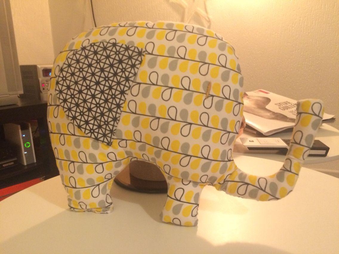 Doudou éléphant #cadeaunaissance