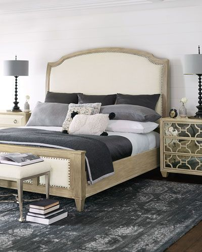 Bernhardt Santa Barbara Queen Sleigh Bed
