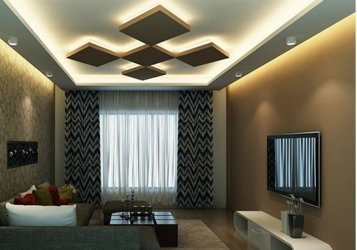 Pin by usman on ceiling design pinterest ceilings gypsum ceiling and ceiling - Trendy living room ceiling designs ...