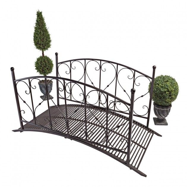 18 Small And Beautiful Fairy Tale Garden Bridges   Like This Metal Bridge  For The Garden