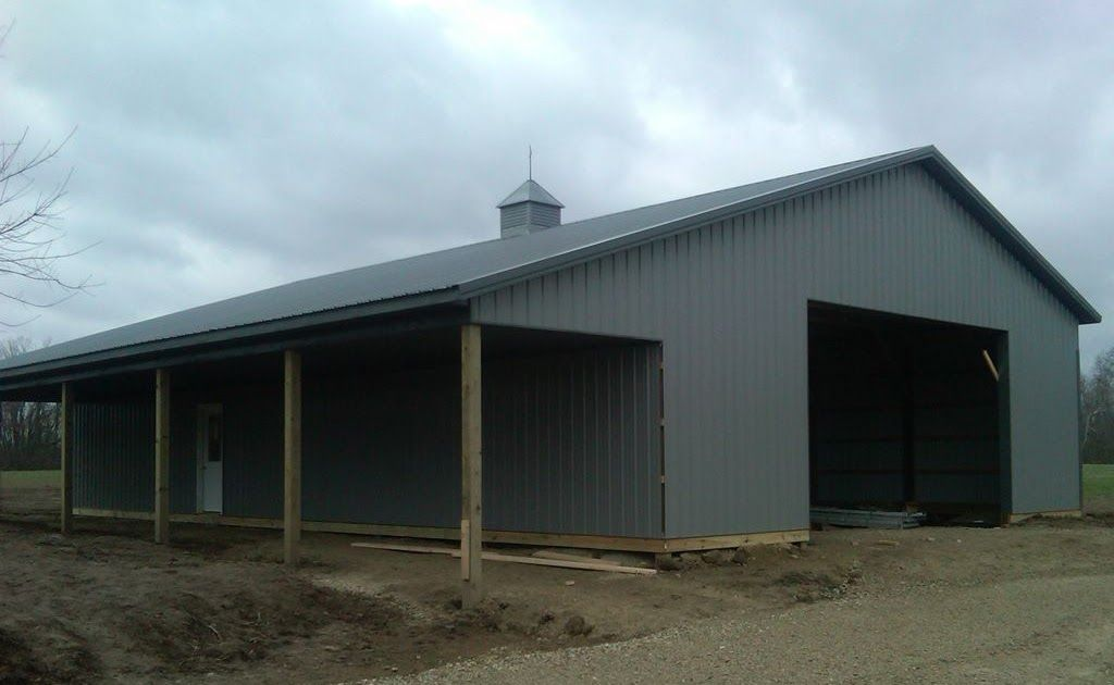 10 12 14 16 Heights Are Available In The Option Drop Down 40 X 60 Pole Barn Home Designs 30x40 Pole In 2020 Building A Pole Barn Pole Barn Plans Pole Barn House Plans