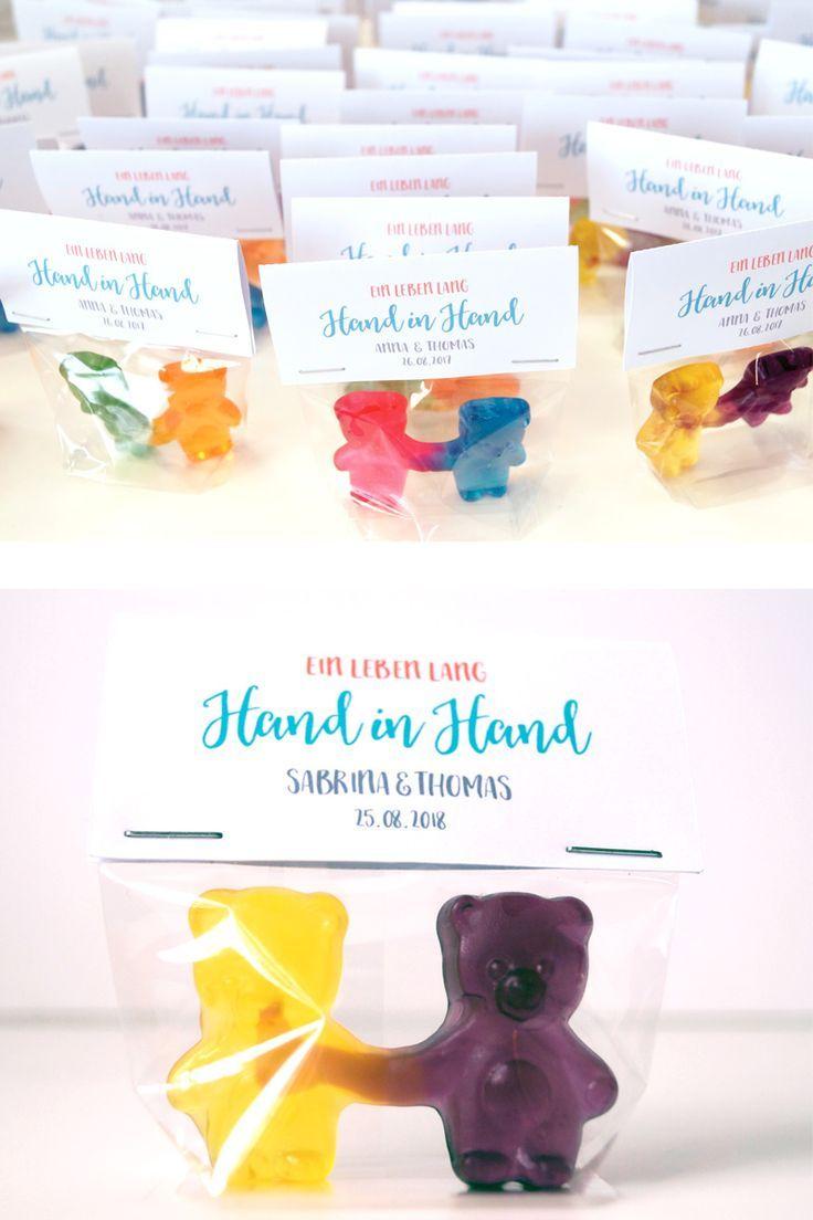 pareja de Big Bear! ♥ ︎ Un regalo súper dulce para tu blog de boda