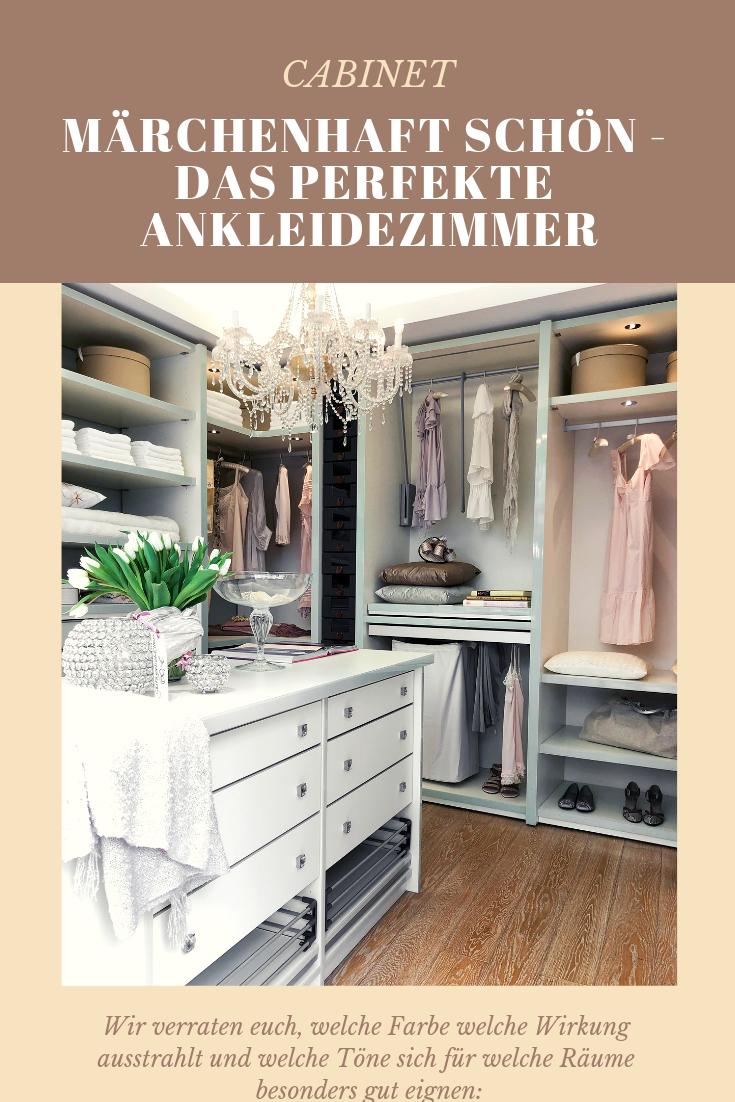 Marchenhaft Schon Die Perfekte Weisse Ankleide Cabinet Magazin Ankleide Ankleidezimmer Ankleide Zimmer