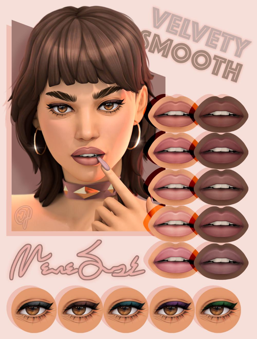 Emmibouquet - When I edit My Sims I always redraw