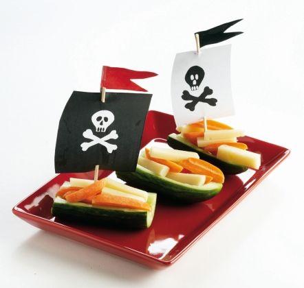 Merirosvon kurkkuveneet   K-ruoka #lastenkutsut