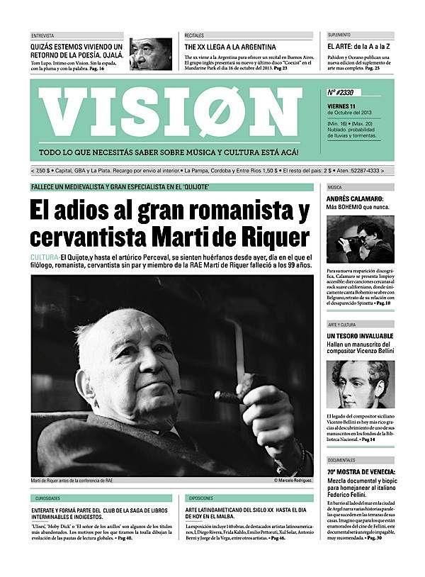 Editorial Design Inspiration Vision Newspaper  Abduzeedo Design