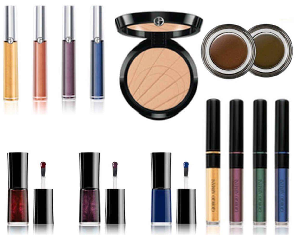Armani giorgio eclipse summer makeup collection photos