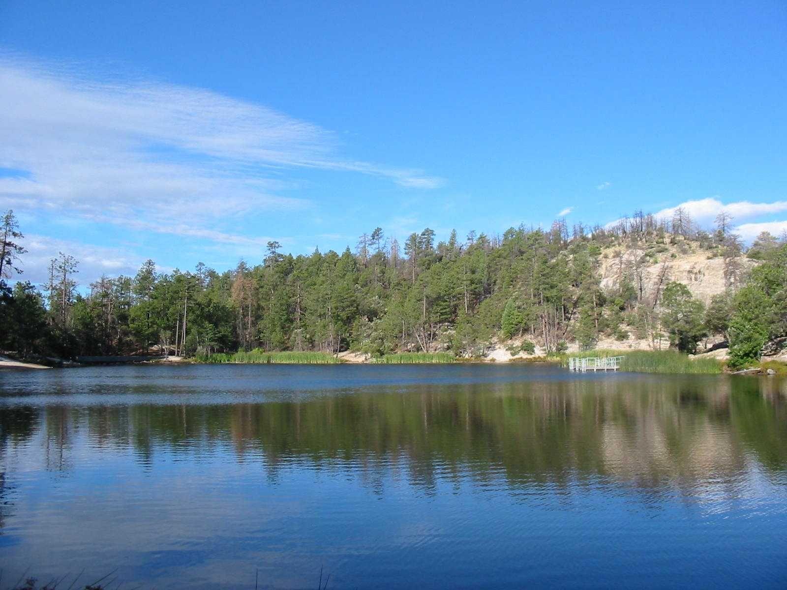 Rose Canyon Lake Catalina Mountains Near Tucson Arizona