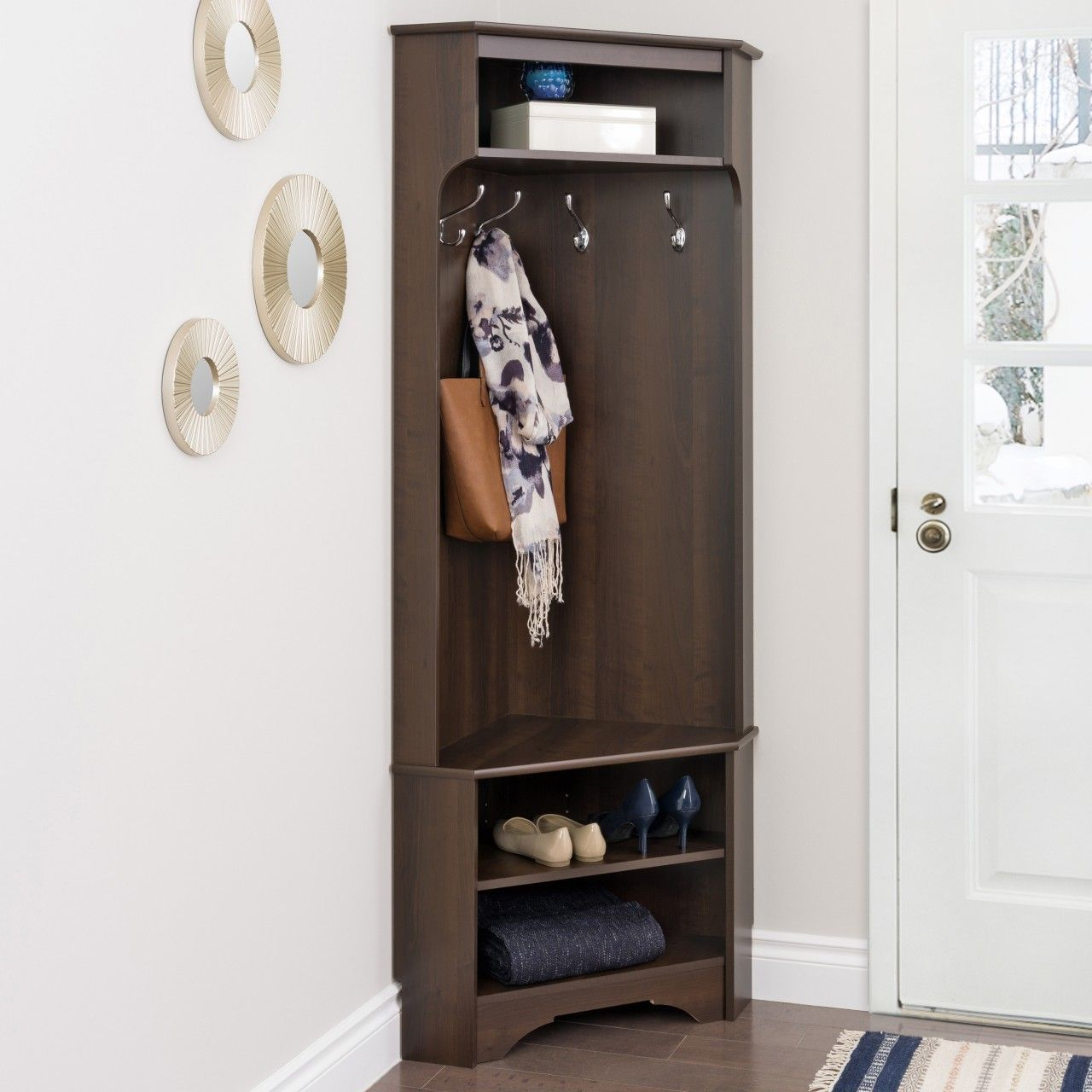 Space saving hallway furniture   Best images about Hall and Entryway Furniture on Pinterest