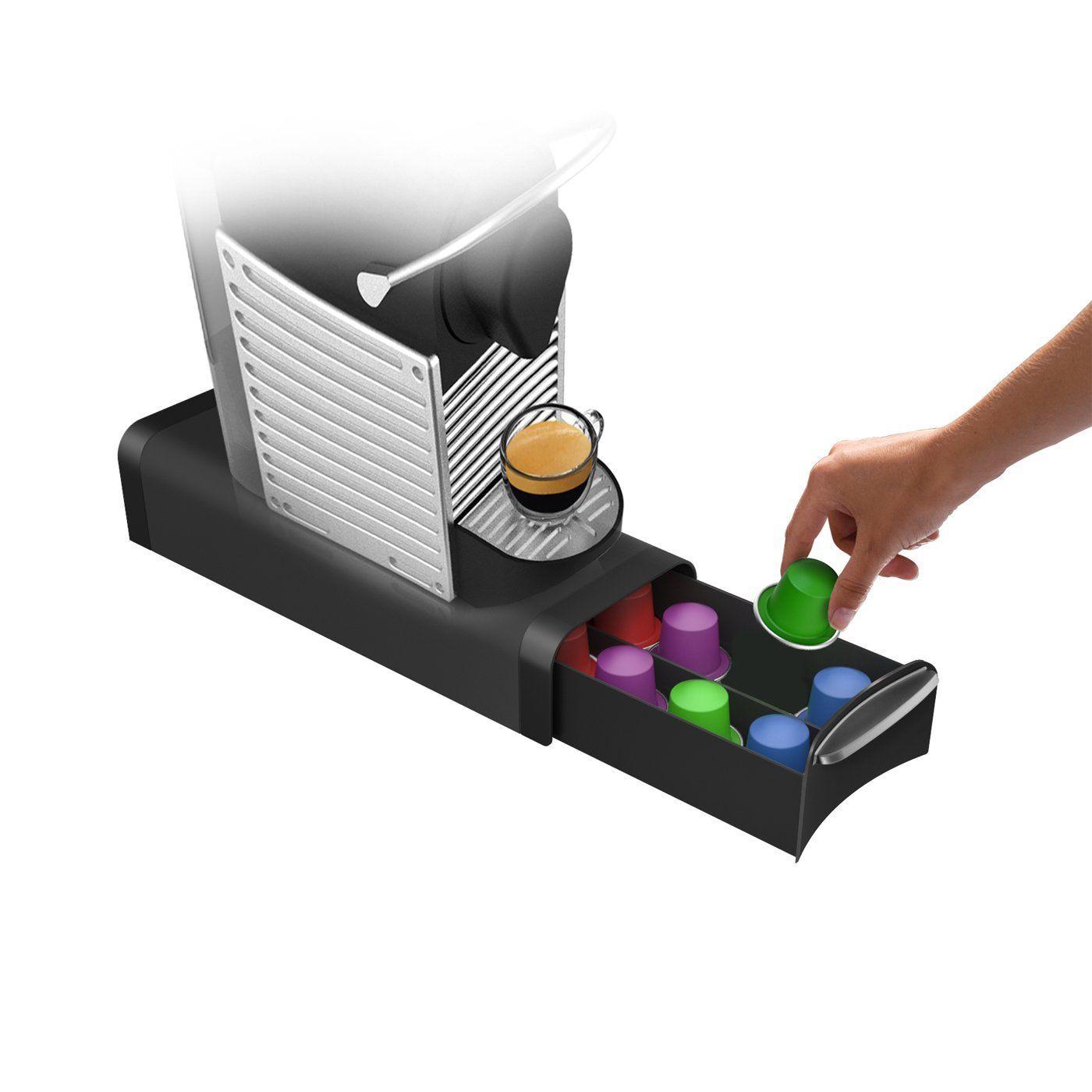 Mind reader slim coffee pod storage drawer for