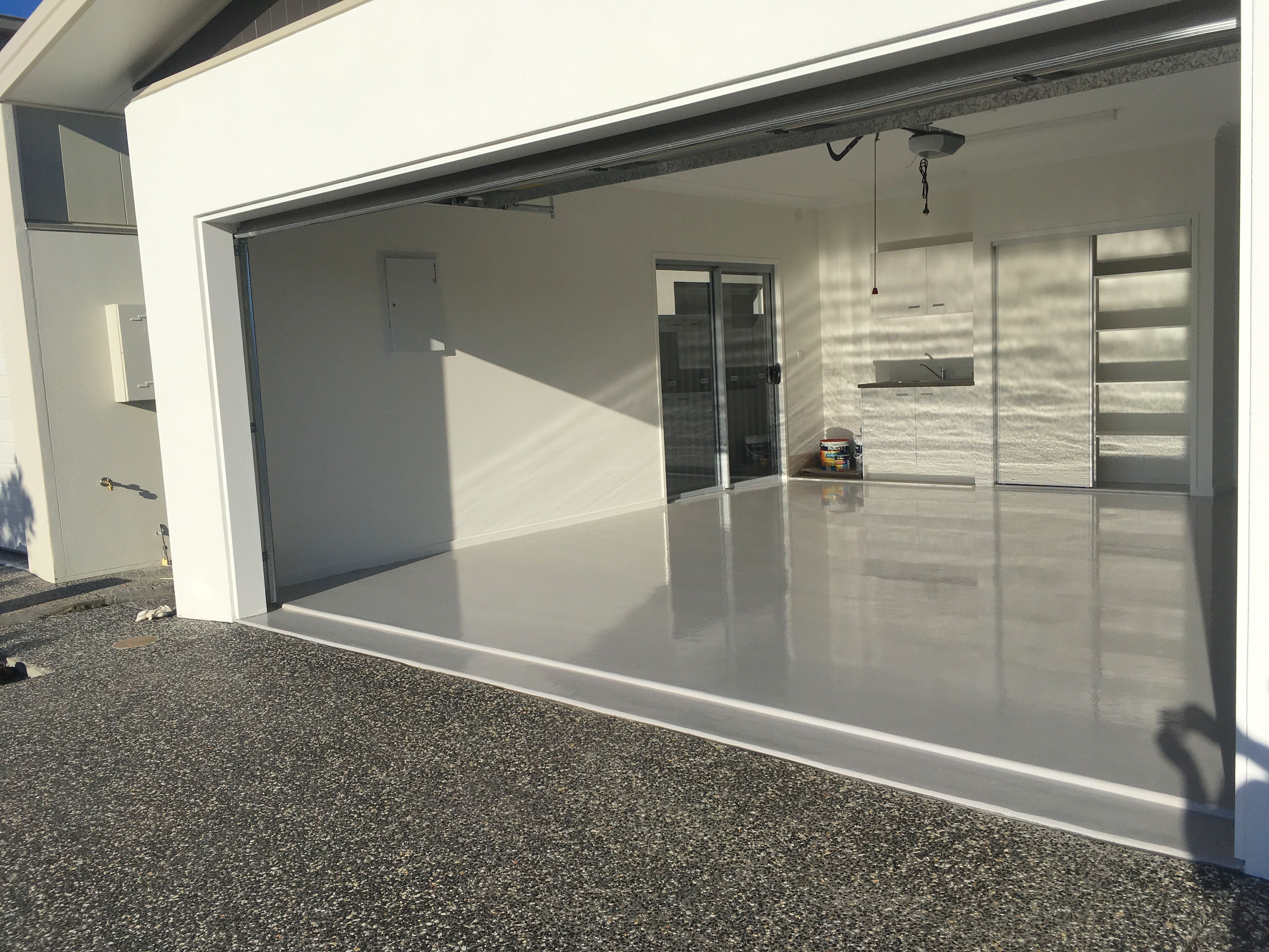 2fe8b94d236 Another display home at Solana Bribie Island Lifestyle Resort completed  with an epoxy floor coating by The Garage Floor Co. Noosa - Maroochydore -  Brisbane.