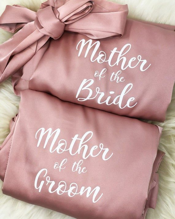 Mother of the Bride Gifts Mother of the Bride Robe Mother of | Etsy