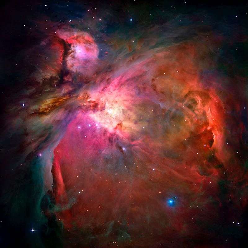 The sharpest view of the Orion Nebula that the Hubble telescope has ever provided, will make you pause in wonder, or even take a deep breath: