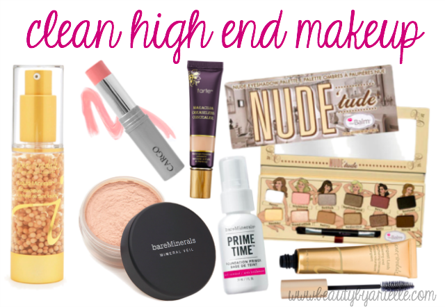 Looking for clean, low toxic high end makeup? Here is a