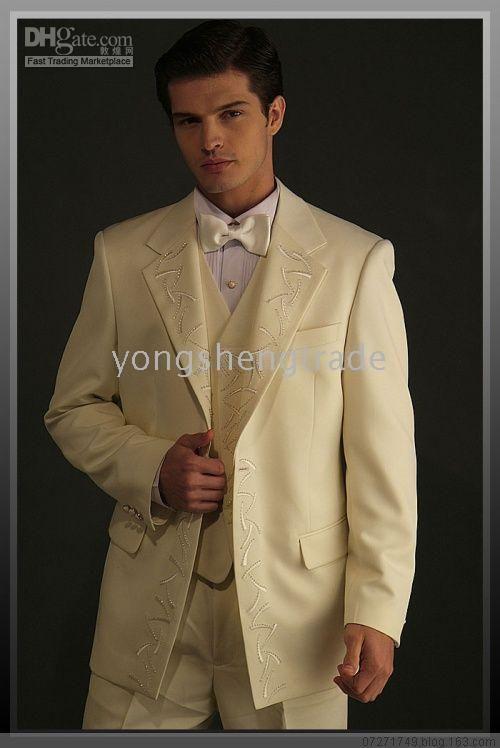 Wholesale Men Wedding - Buy Beige Men Wedding Suit 2011 Popular ...