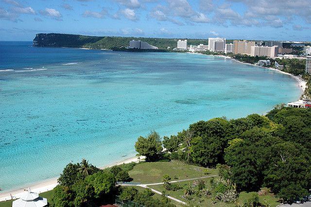 Tumon Beach Guam Micronesia Guam Travel Guam Beaches Guam