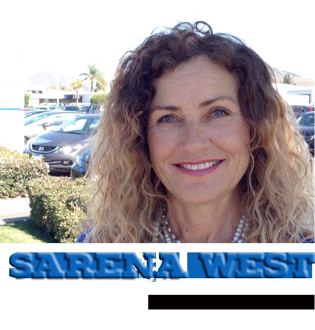 Sarena West In San Luis Obispo Is Your Trusted Central Coast Honda Dealer.