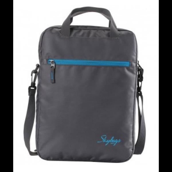 Skybags- SMART LAPTOP SLEEVE VERTICAL GREY