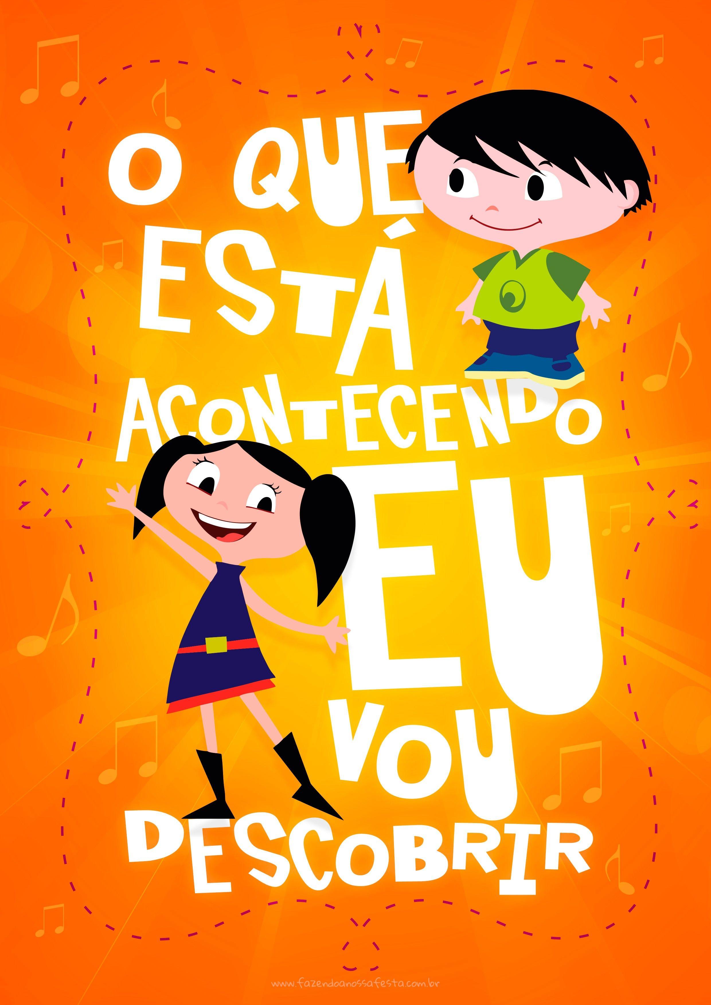 Plaquinhas Festa Show Da Luna 4 O Show Da Luna Pinterest
