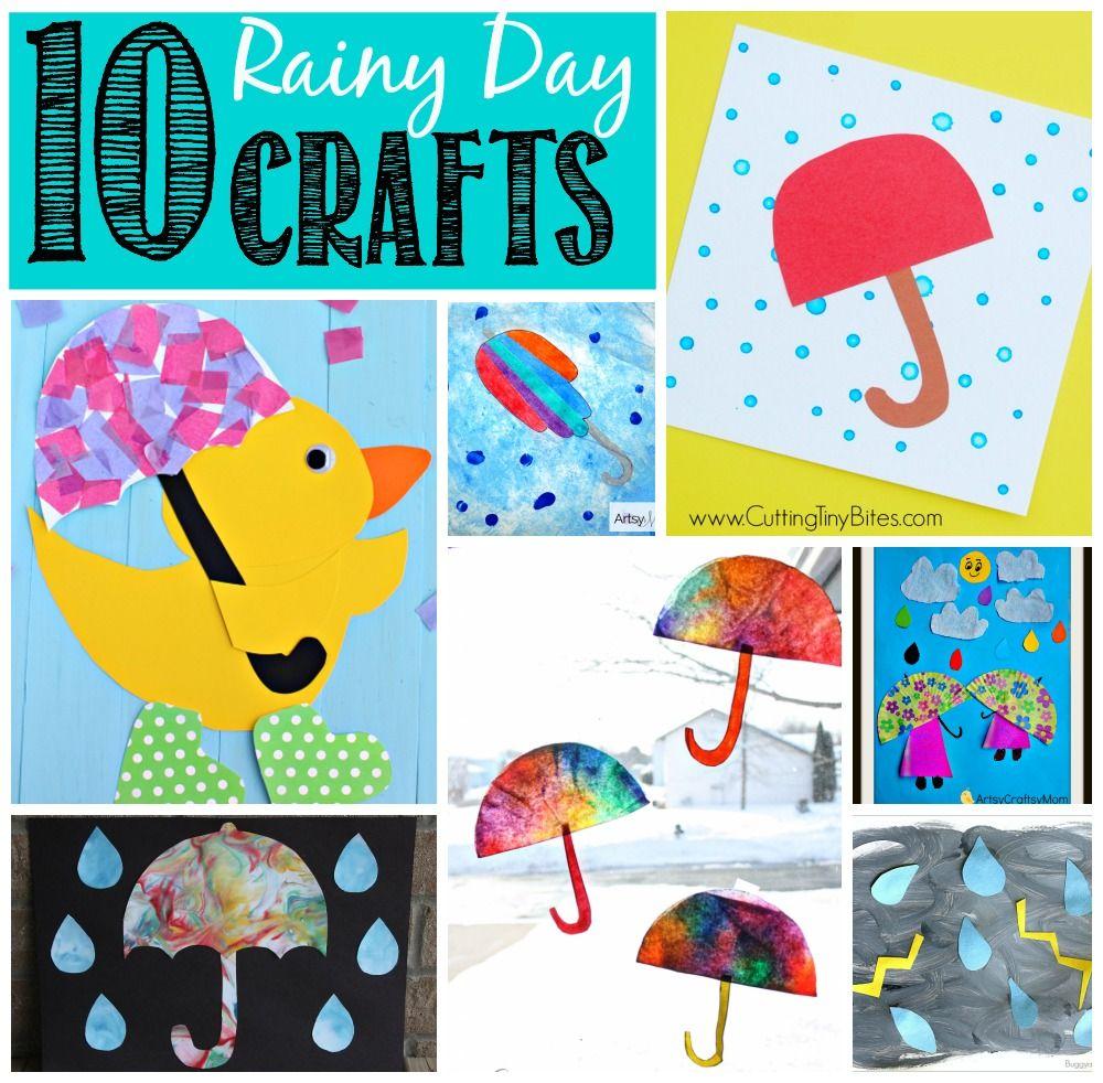 Rainy Day Crafts, Kindergarten