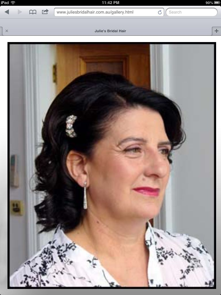 mother of the bride hair style.   mother of bride hair   pinterest