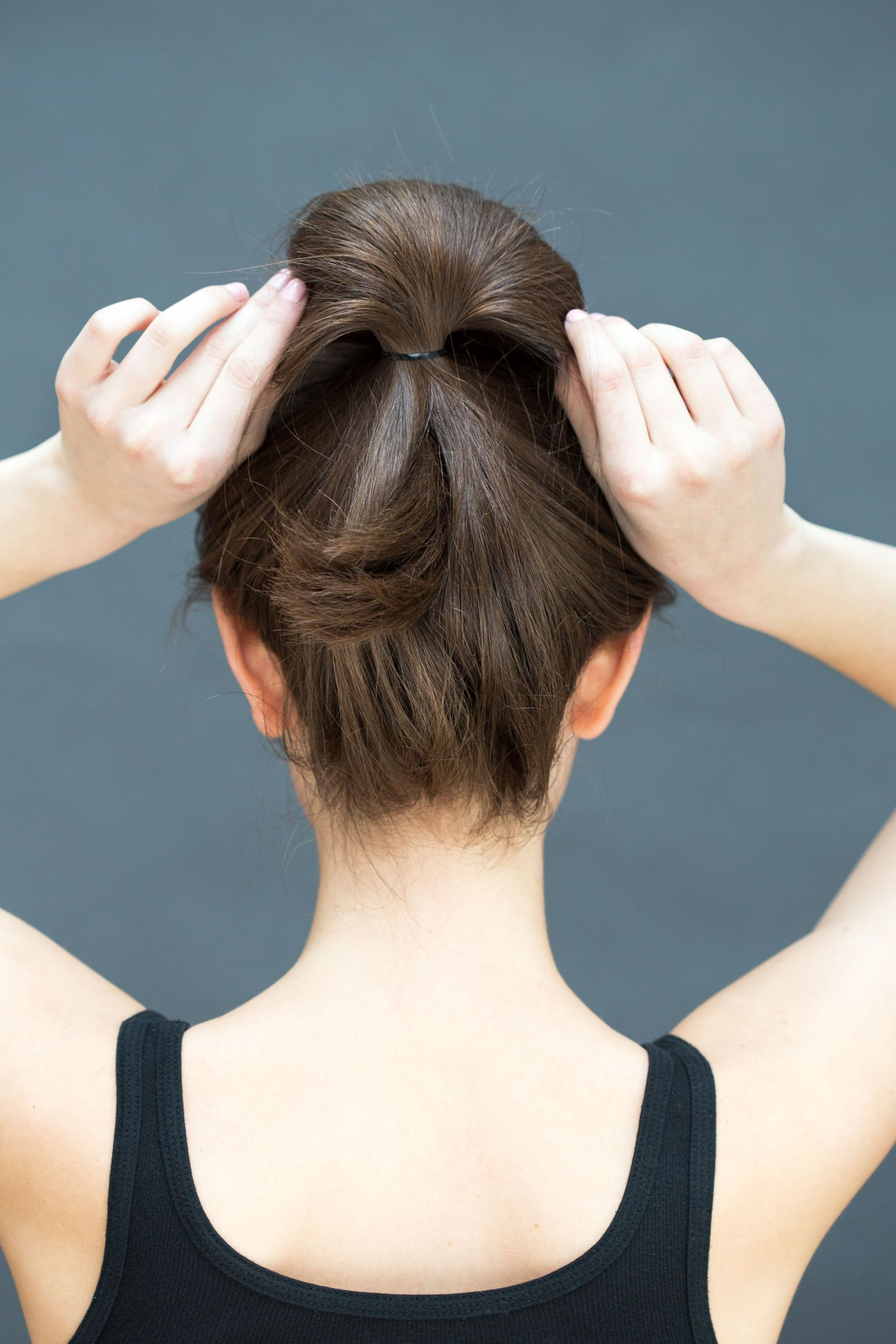 hairstyles you can do in literally seconds ponytail quick