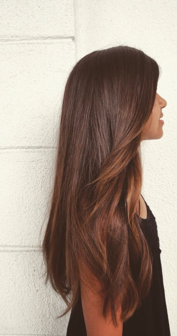 Beautiful Long Brown Hair Tomybsalon Lovemycolor Http Tomybsalon Com Best Hair Extensions In The Long Island A Long Thin Hair Hair Styles Long Hair Styles