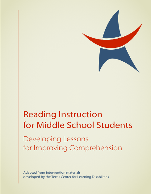 Teacher Guide For Creating Reading Intervention Lesson Plans Using