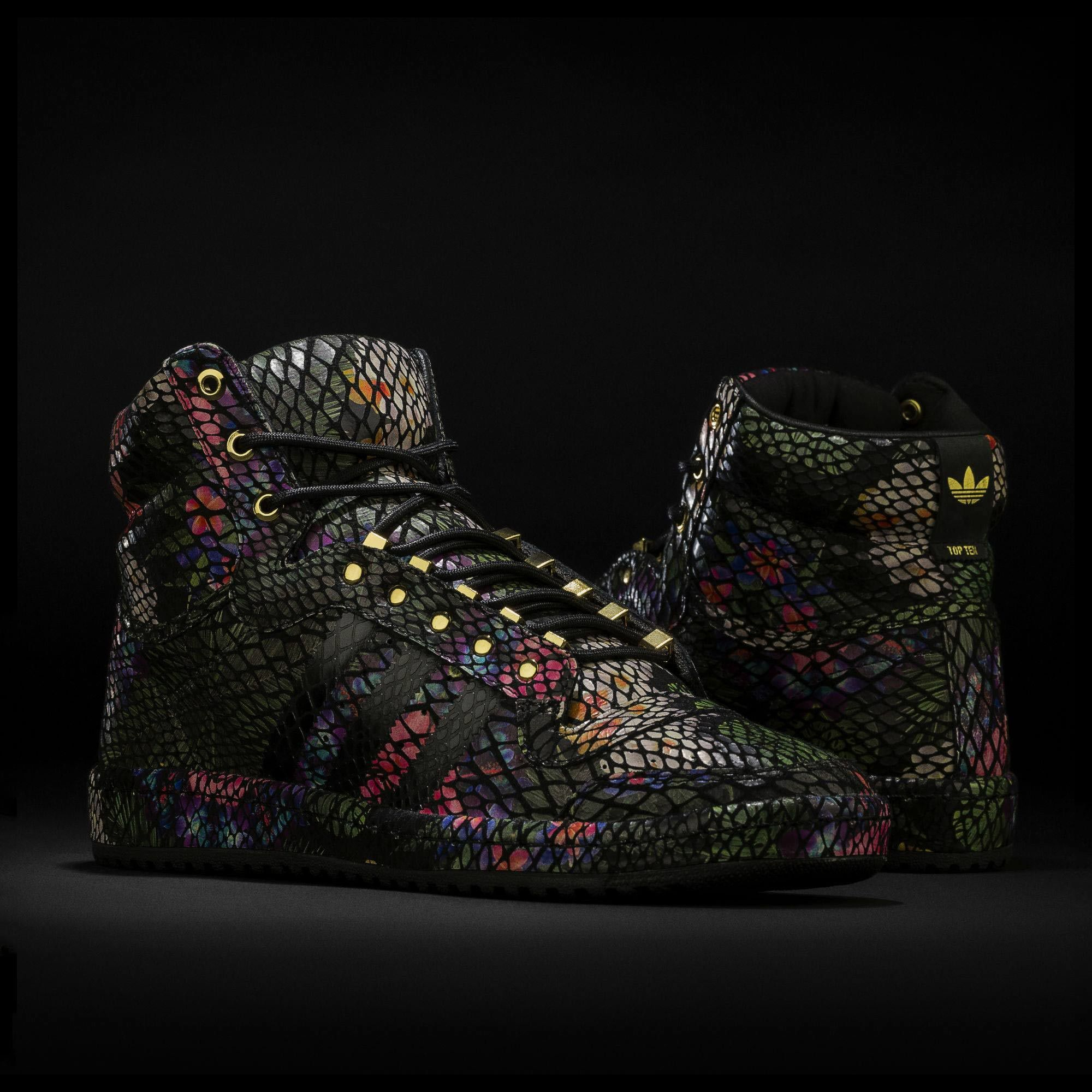 size 40 79997 f5fb8 adidas - Top Ten Hi Floral Shoes