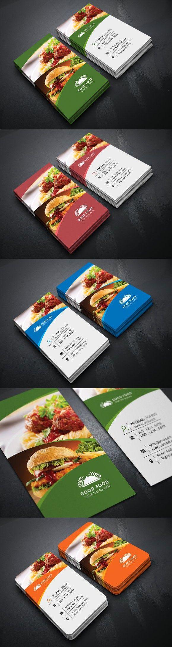 Restaurant Business Card Branding Pinterest Business Cards