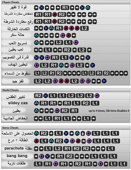 جميع اكواد Gta 5 على Ps3 بالعربية Gta V Cheats Gta 5 Cheats Ps4 Gta