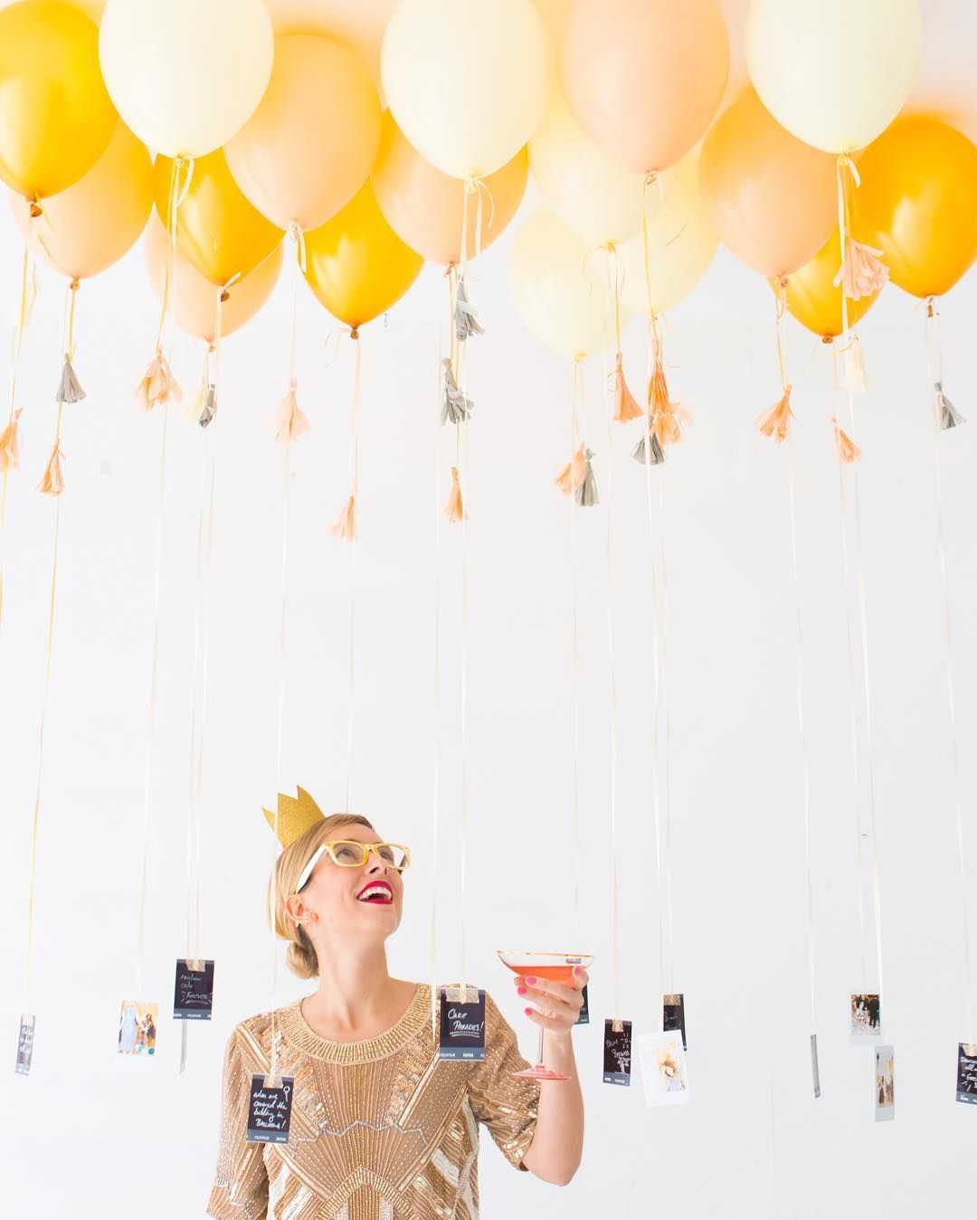 "Oh Happy Day on Instagram: ""💡 Fun NYE party idea: hang ..."