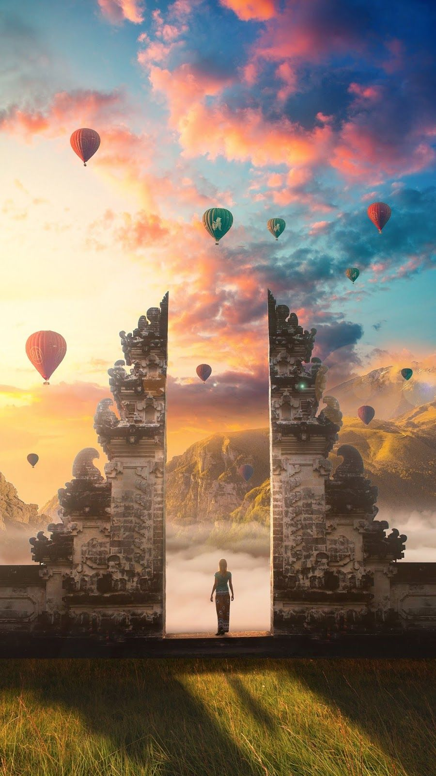 Gate Of Heaven Wallpaper Iphone Android Background Followme Beautiful Wallpapers Photoshop Wallpapers Art