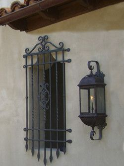 Spanish Style Wrought Iron Window Grills 8