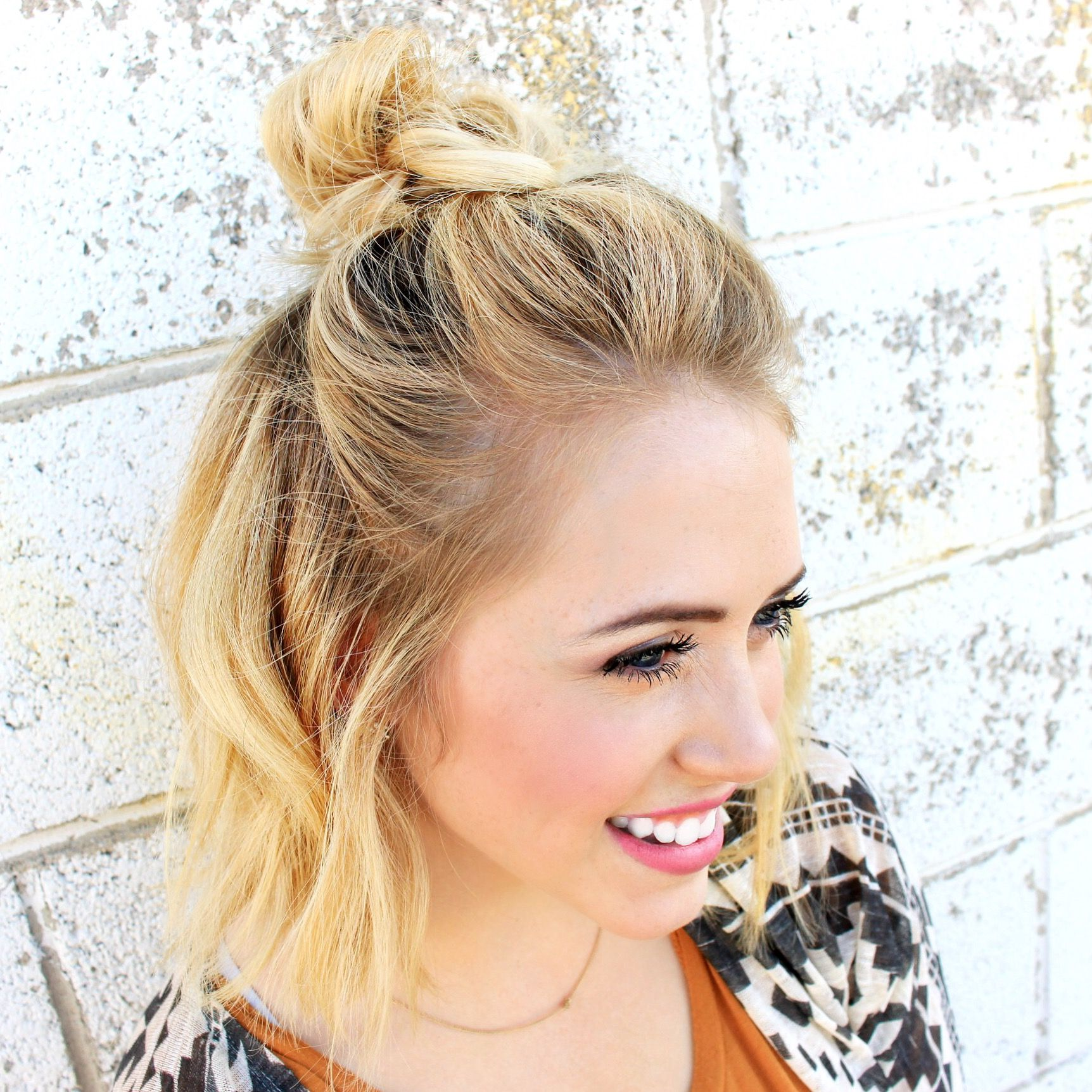 Having Short Hair Is So Much Fun When You Find Fun Things To Do With It I Uploaded A Video On My Youtube Channel Abou Easy Hairstyles Stylish Hair Hair Styles