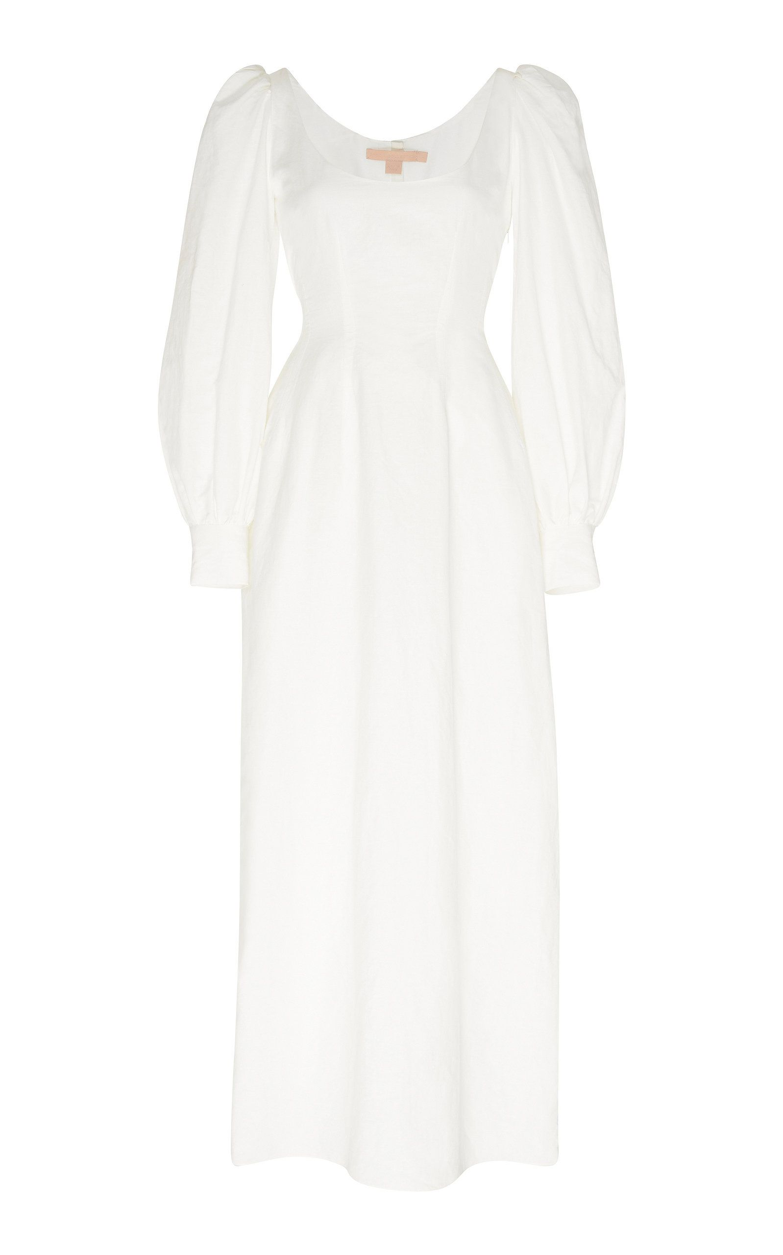 Bow Detailed Cotton Blend Maxi Dress By Brock Collection Now Available On Moda Operandi In 2020 Maxi Dress Dresses Fashion