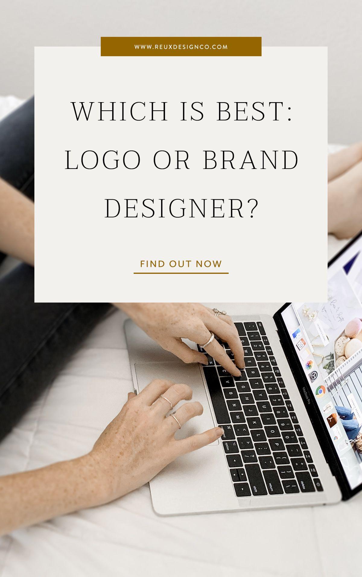The Difference Between A Logo Designer And A Brand Designer Blog Reux Design Co Branding And Web Desi Branding Design Business Website Design Web Design