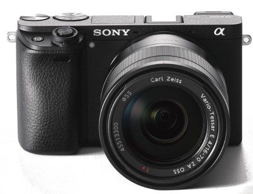 Sony Alpha 6300 E Mount Systemkamera 24 Megapixel 7 5 Cm 3 Zoll Display Xga Oled Sucher Zeiss Kit 16 70mm Objektiv Schwar Kameras Systemkamera Objektiv