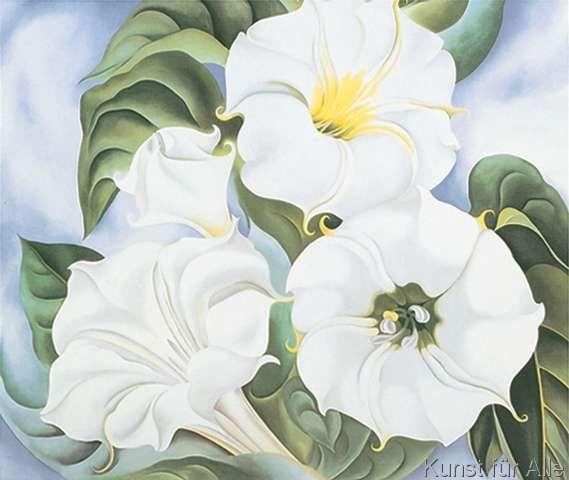 Georgia O\'Keeffe - Jimson Weed, 1935 | O keefe | Pinterest ...