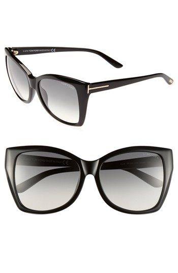 ec81322153eb3 Tom Ford Carli 57mm Sunglasses