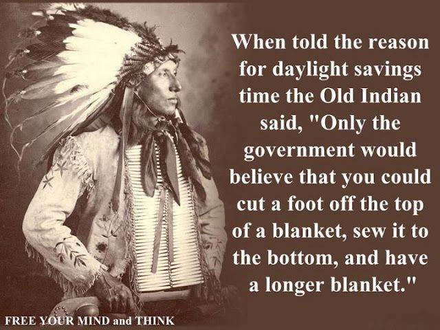 Daylight Savings...yeah...