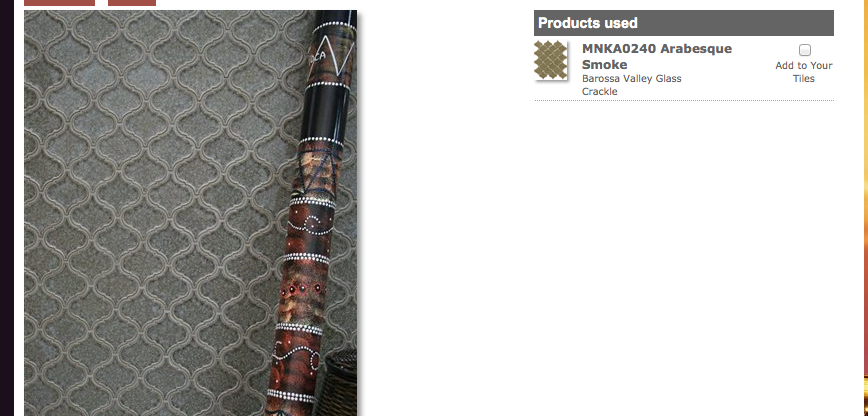 Awesome tile for Master shower niche $43/sheet or 0.87sf http://tiles.maniscalcostone.com/project/show/267