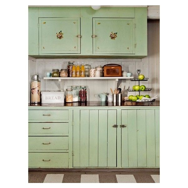 Old Country Kitchen Cabinets: {kitchen} / Love These Cabinets!! Liked On Polyvore